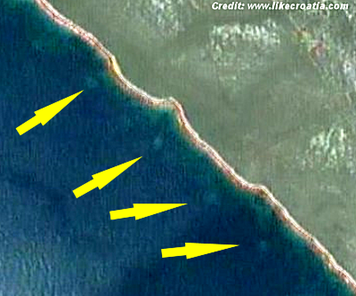 Mysterious Circles Discovered Off Coast of Croatia - 2013