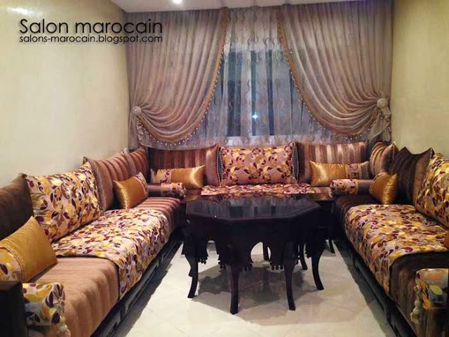 boutique salon marocain 2018 2019 design salon marocain. Black Bedroom Furniture Sets. Home Design Ideas