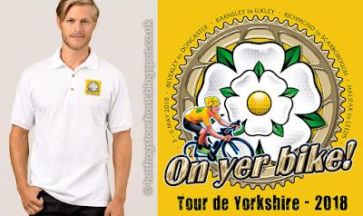 image of T shirts  for Tour de Yorkshire