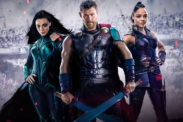 Thor: Ragnarok is directed by Taika Waititi and will feature the return of Chris Hemsworth as the God of Thunder himself, with Cate Blanchett (left) plays the mysterious and powerful new villain Hela, and Tessa Thompson (right) who will bring the classic hero Valkyrie to life.