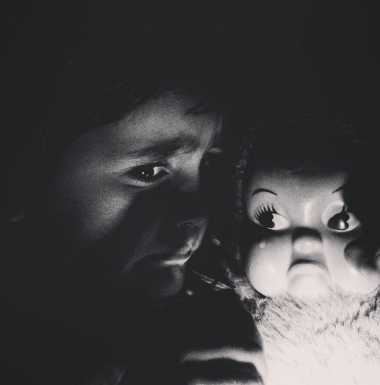 Uma tradição de pai e filha apaixonados por terror
