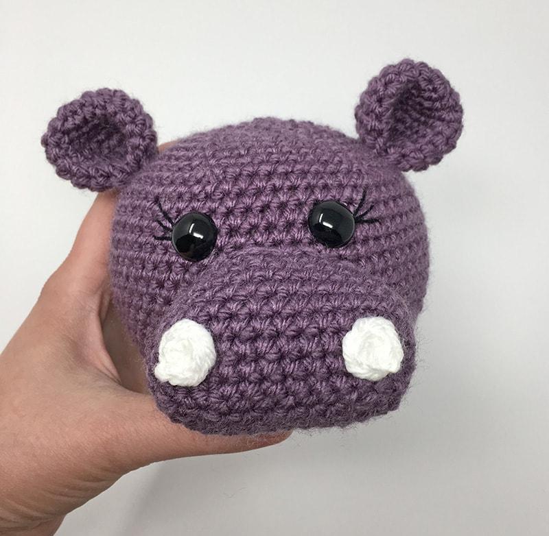 amigurumi hippopotamus a free
