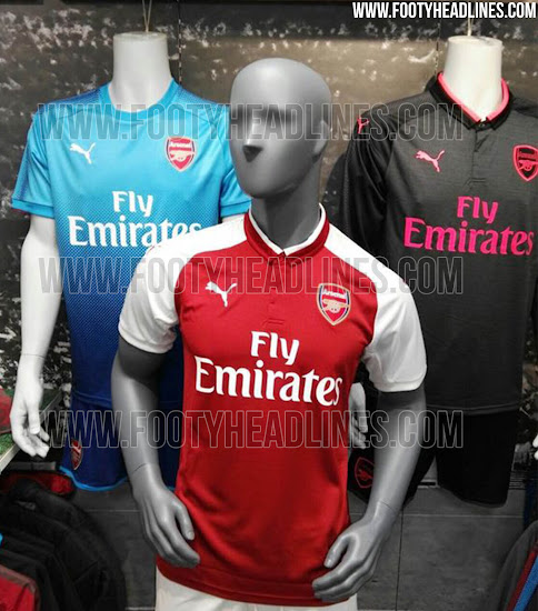 Complaciente clérigo once  April Fools' - Arsenal Agree Adidas Kit Deal - Leaked 17-18 Kits - Footy  Headlines
