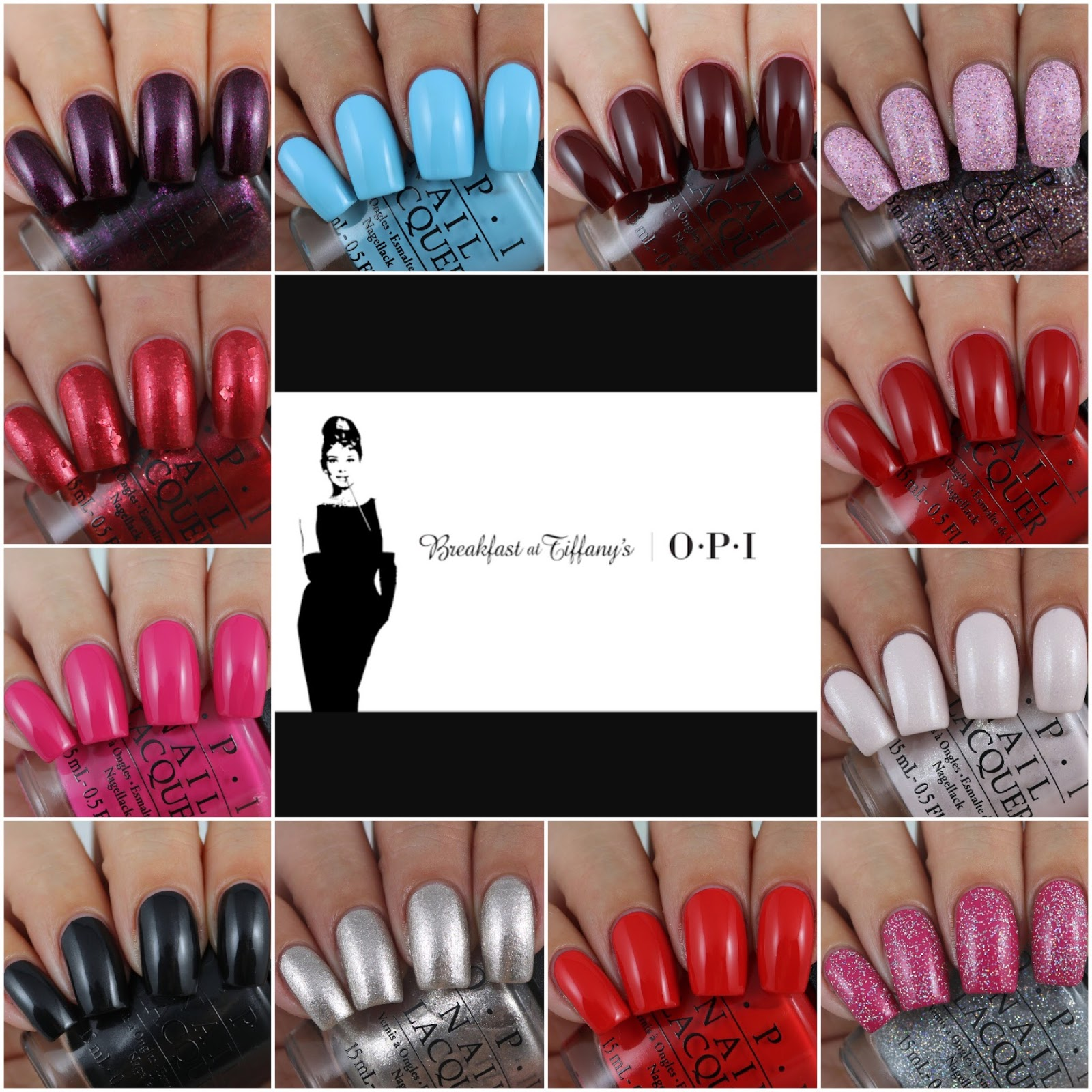 Black dress not optional opi - Opi Breakfast At Tiffany S Collection Swatches Amp Review By Olivia