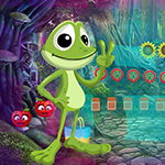 Games4king Funny Frog Escape