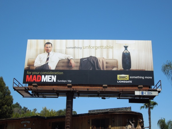 Mad Men 6 Something Unforgettable billboard