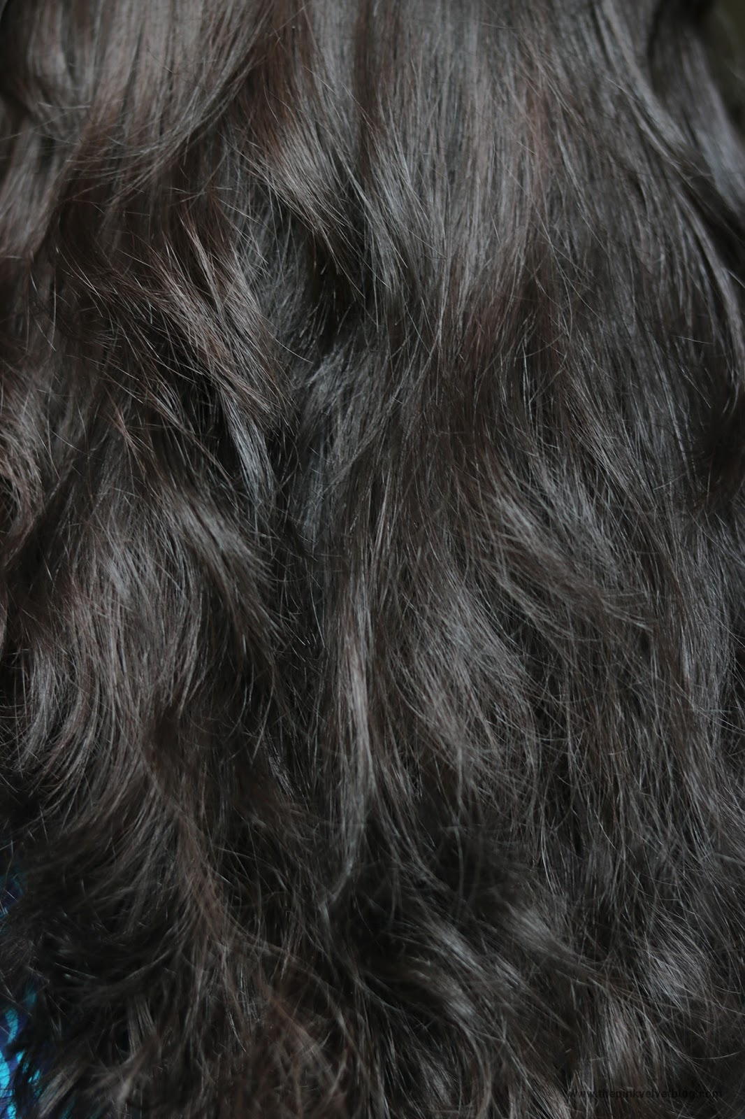 After - BBlunt Hair Color Chocolate Dark Brown