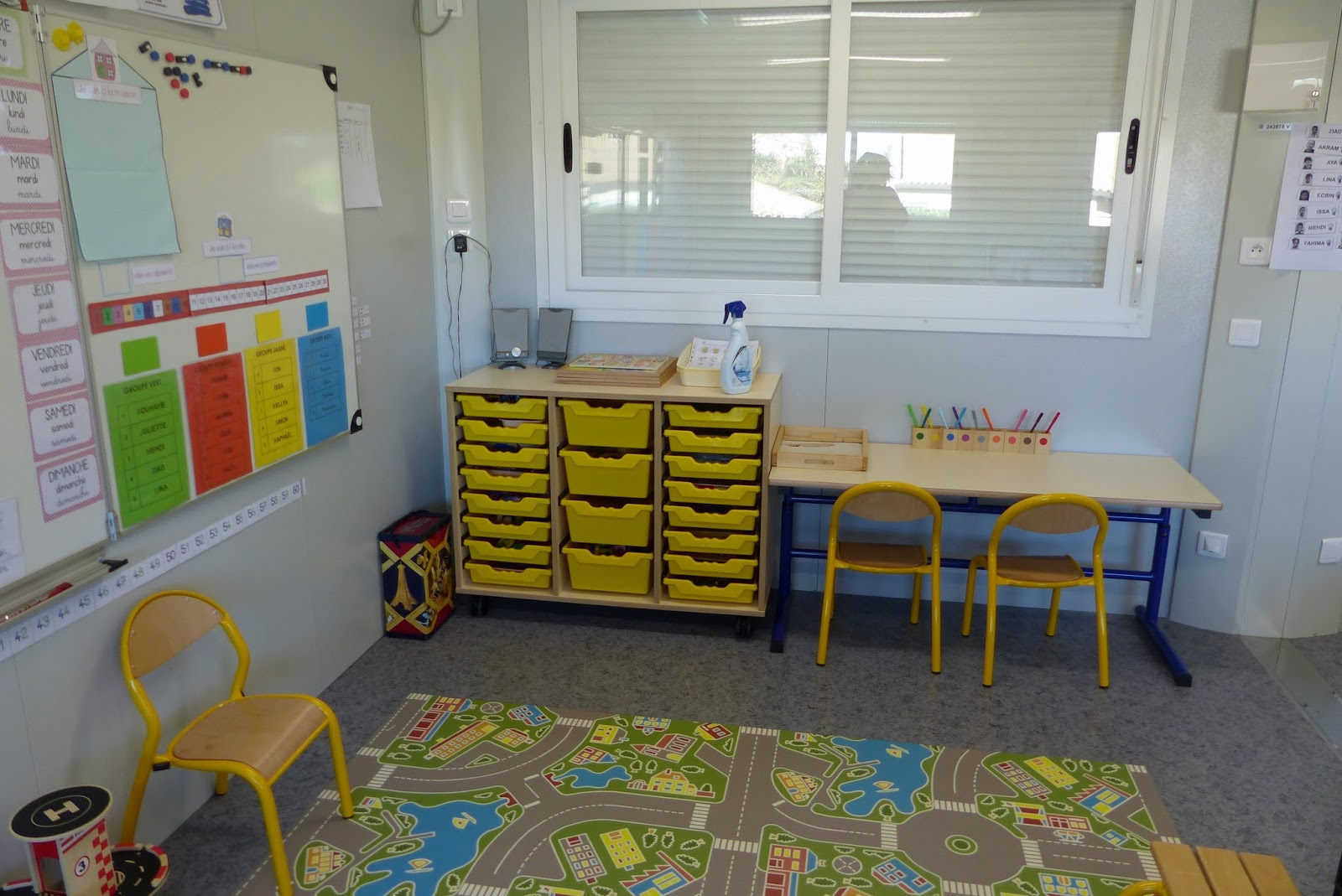 Ma petite maternelle nouvel am nagement de la classe - Amenagement classe maternelle ...