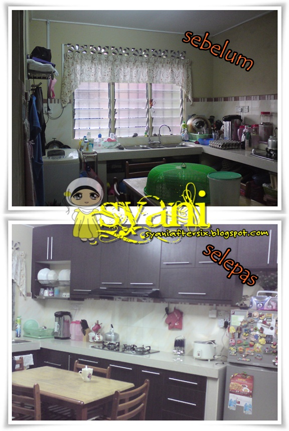 Kabinet Dapur Before After
