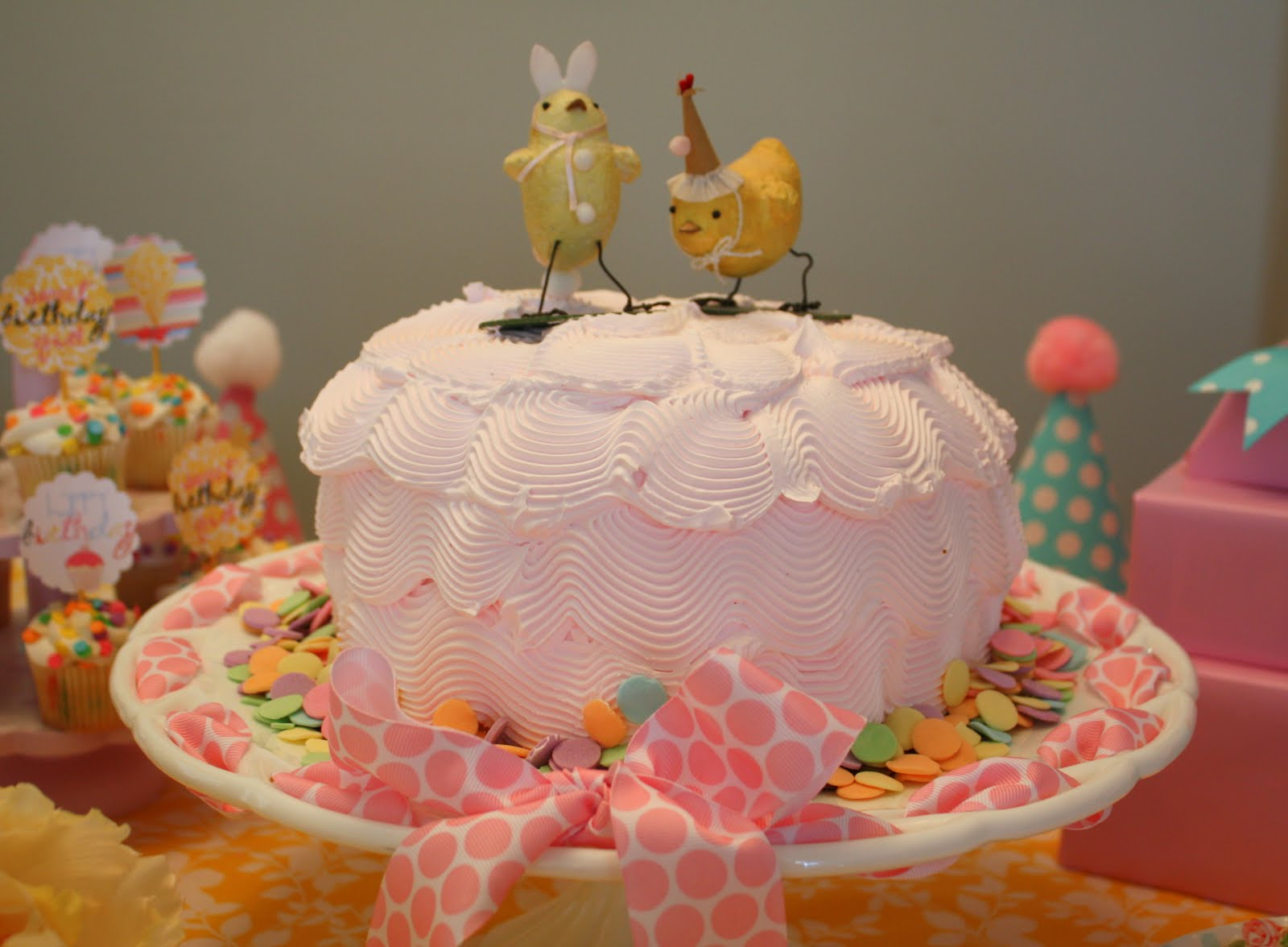 A Popeyes Chicken Birthday Cake Really This Could Have: Little Pumpkin Grace: For My Sweet Girl {spring Chicken