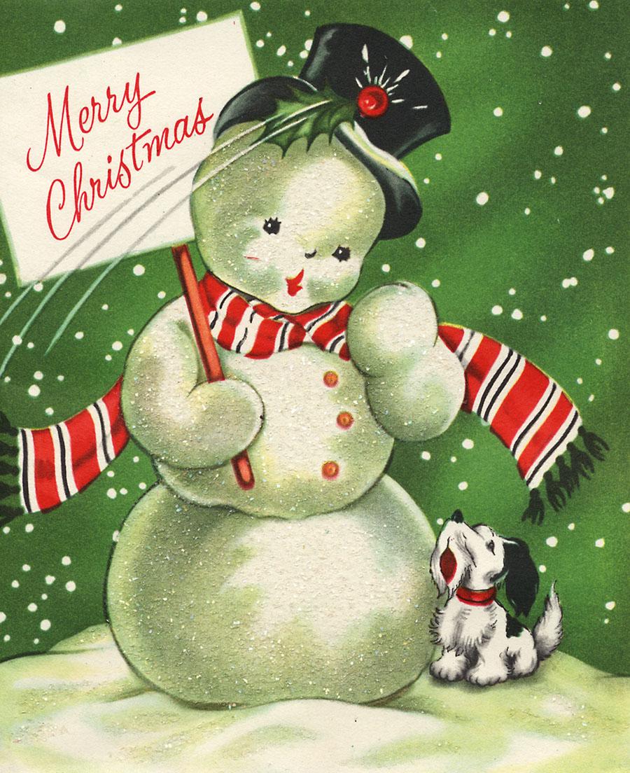 vintage snowman clipart - photo #28