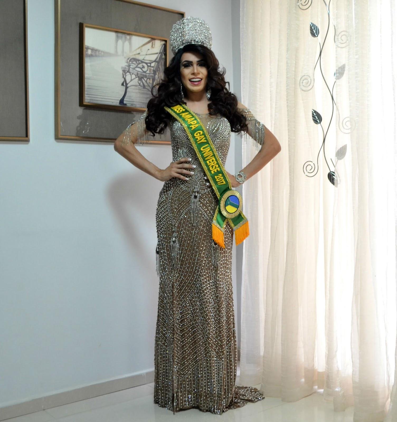 Miss Gay Amapá faz rifa para comprar peças de trajes para concurso nacional