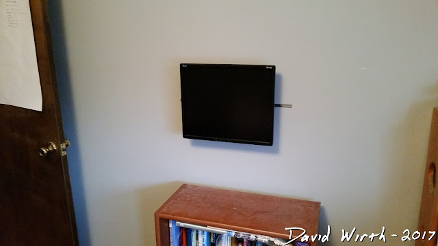 easy free mount tv monitor to wall