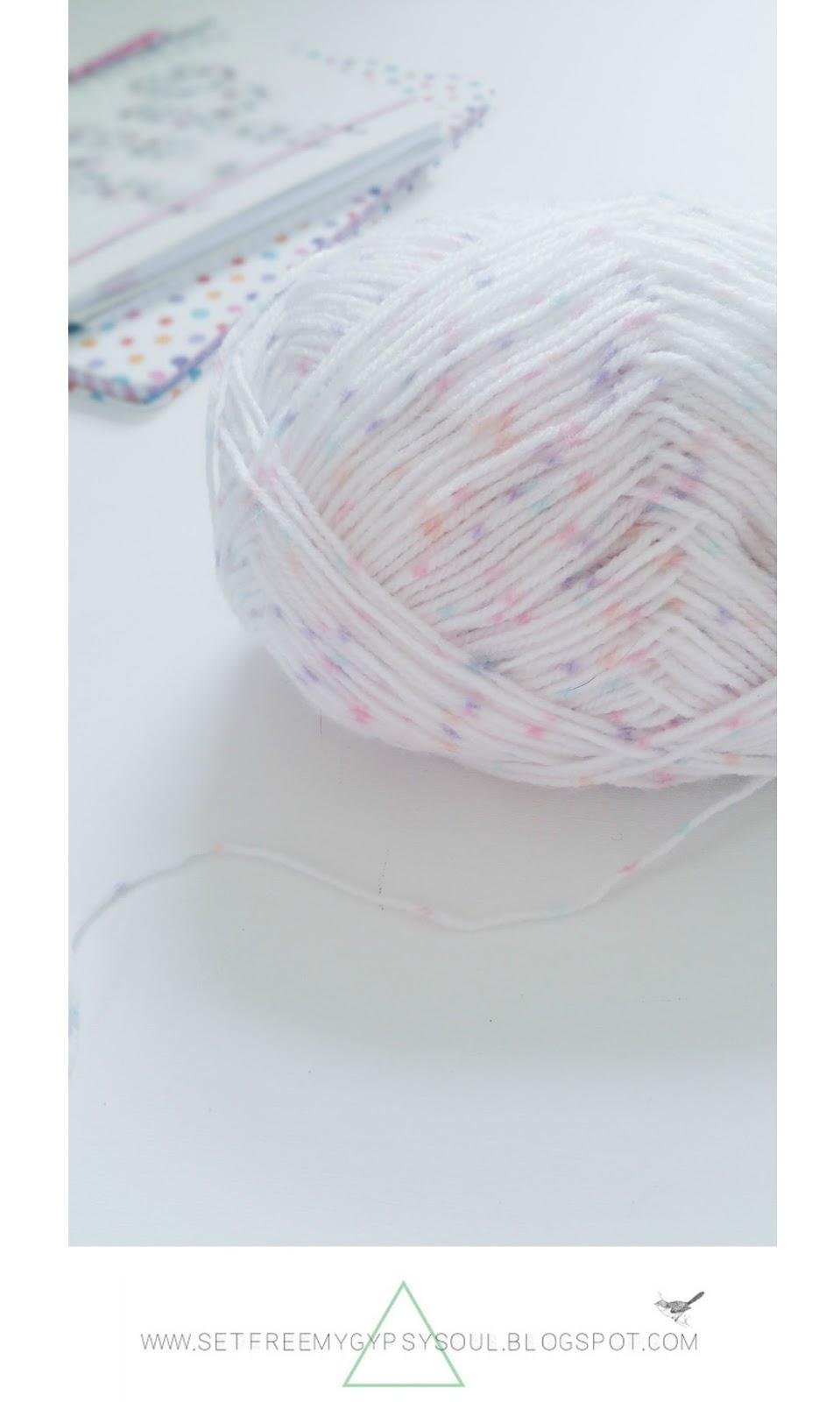 free crochet pattern mandala baby wool spot rug
