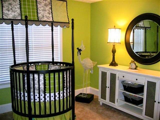 paint color ideas for baby boy nursery
