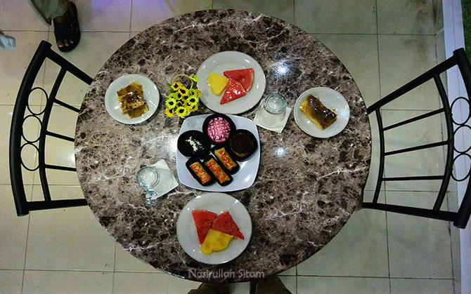 Sajian berbagai menu di GH Corner Cafe' & Resto