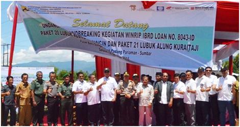 Dahler: Kabupaten Padang Pariaman Merupakan Penerima Dana Pembangunan Infrastruktur Terbesar Di Wilayah Sumatera Barat