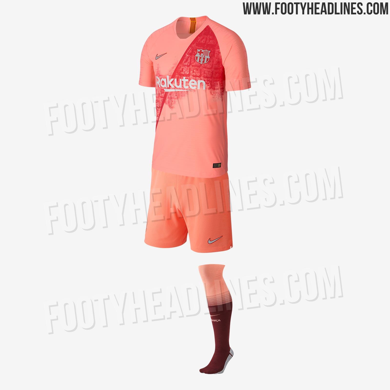 d18a427e9 Nike FC Barcelona 18-19 Third Kit Released - Footy Headlines