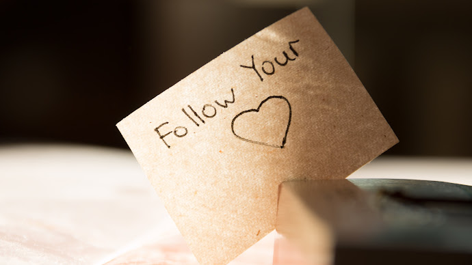 Wallpaper: Follow Your Heart