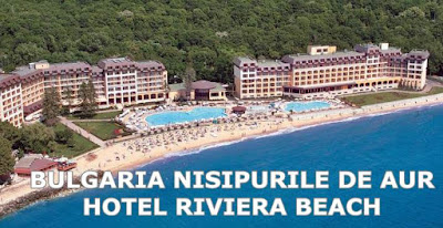 CAZARE BULGARIA NISIPURILE DE AUR HOTEL RIVIERA BEACH