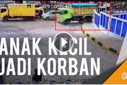 Mengerikan! Video Rekaman CCTV Detik-detik Truk Pembawa Pasir Tak Kuat Nanjak, Tewaskan 3 Orang