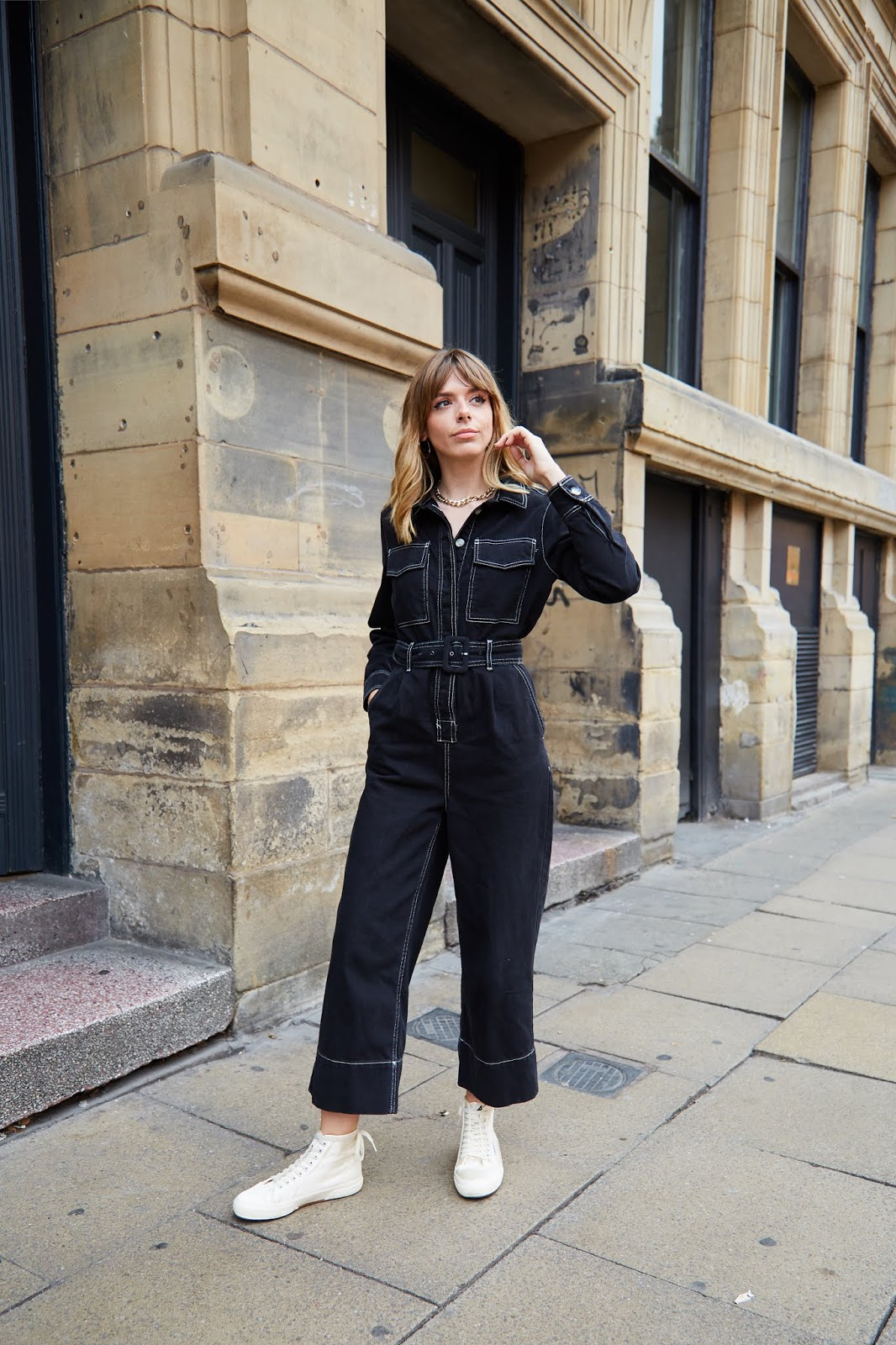 5cc25fbe1694 One of my favourite factors to wearing a boiler suit is how bloody comfy it  is (bar those moments when you need the toilet and have to basically stripe  down ...