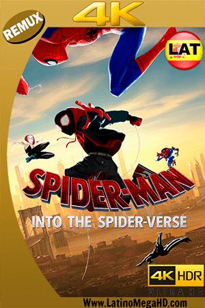 Spider-Man: Un Nuevo Universo (2018) Latino Ultra HD BDRemux 2160P - 2018