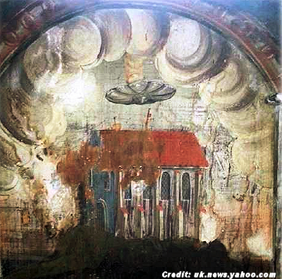 Hovering 'UFO' Found in 16th Century Painting