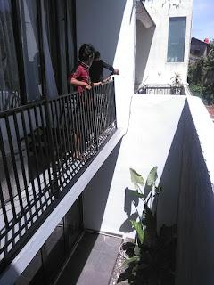 Reling tangga PONDOK LABU