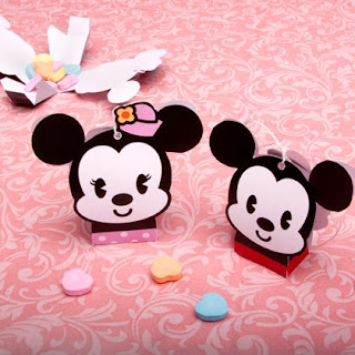 Mickey & Minnie Caja de Dulces - Mickey & Minnie Candy box