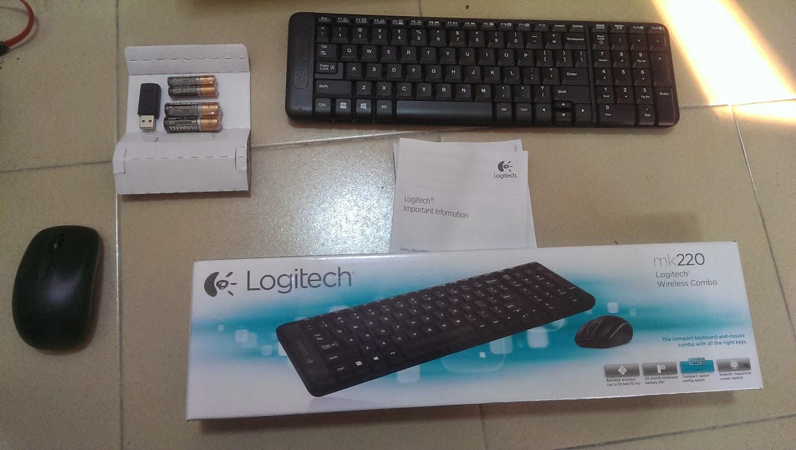 On Ubuntu: Logitech MK220 impressions