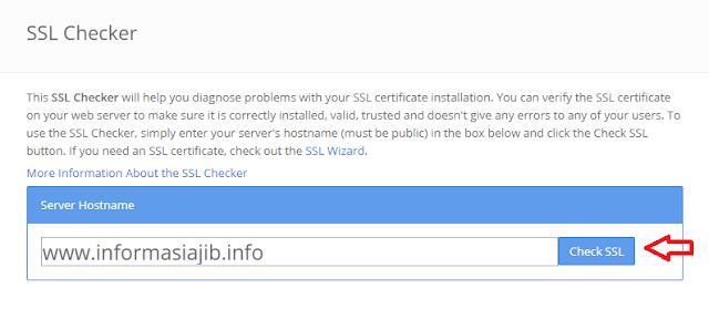 Cara Cek Masa Aktif Sertifikat SSL