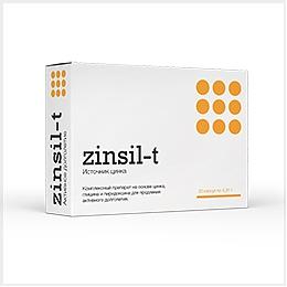 Цинсил-Т – комплексный препарат на основе цинка, глицина и пиридоксина (витамина В6)