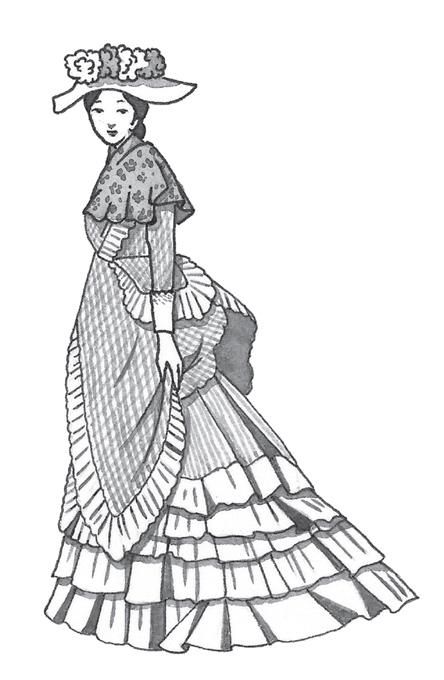 和洋折衷がお洒落の基本 明治時代の服装とは? , パンタポルタ