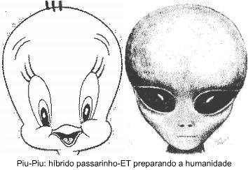 Conspiração: Piu-Piu é um alienígena?