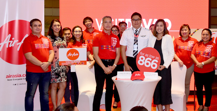 AirAsia inks partnership with Davao tourism for Visit Davao Summer Festival 2018