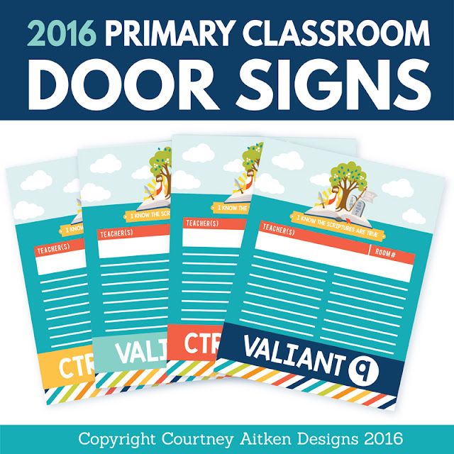 All things bright and beautiful 2016 free primary printables for Idea door primary printables