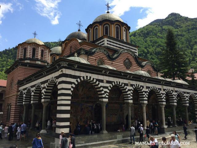 Iglesia Monasterio de Rila Bulgaria