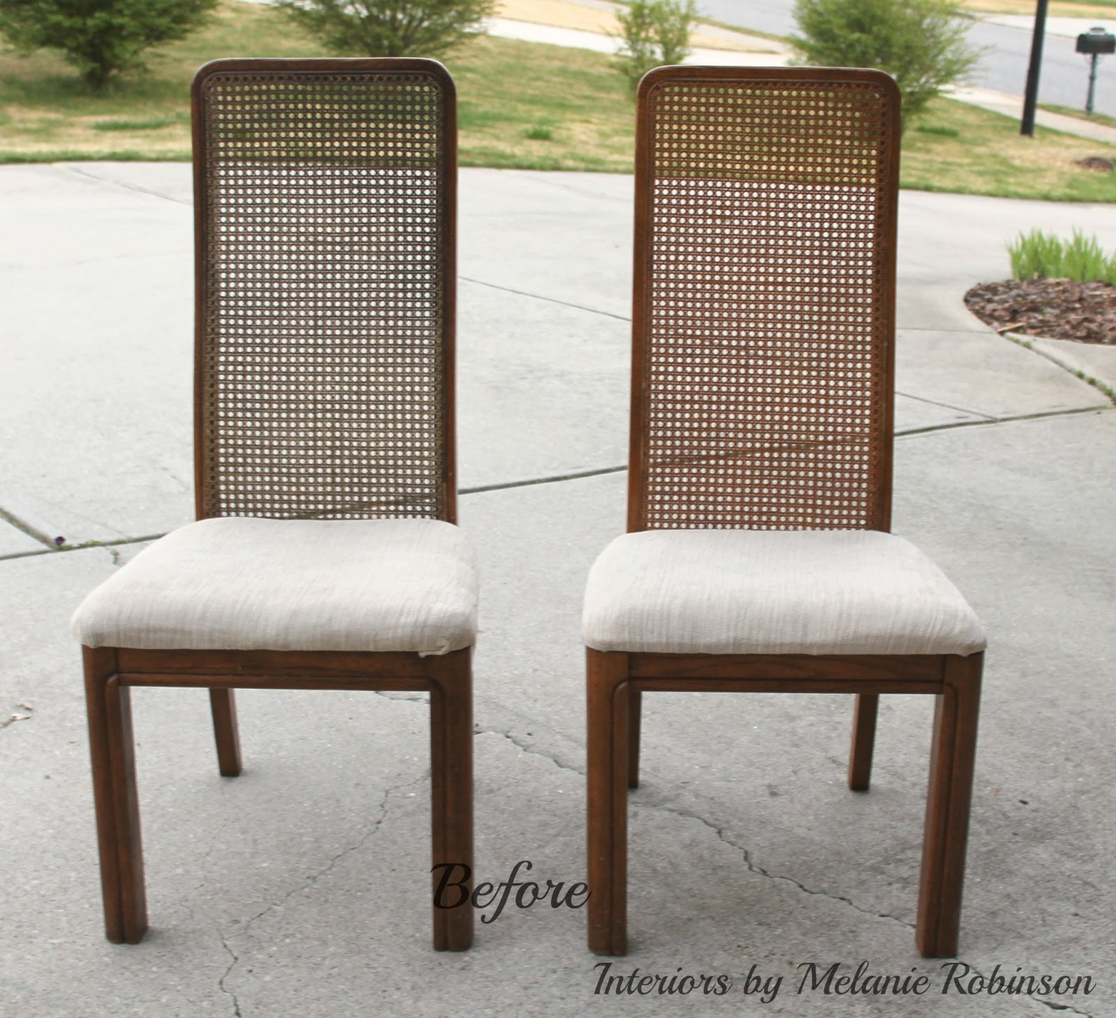 Mid Century Modern Chairs Makeover