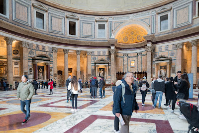 Pantheon Rome Italy interior
