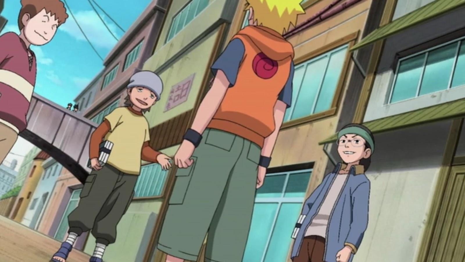 Naruto Shippuden: Episódio 177 – (Filler) O Juízo de Iruka