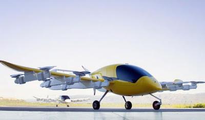 Cora Taksi Terbang yang Didukung Pendiri Google