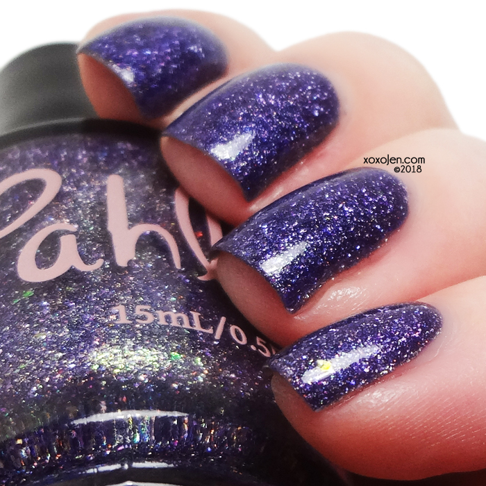 xoxoJen's swatch of Pahlish Undisguised