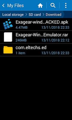 تحميل تطبيق ExaGear - Windows Emulator مجـــــانا الخاص بتشغيل برامج