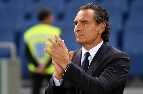 """Prandelli: """"El fútbol tiene que pasar a un segundo plano"""""""