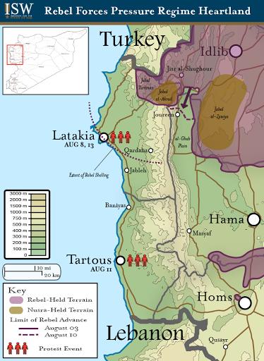 Syrian Rebel Forces Pressure Regime Heartland