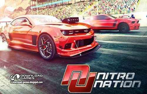 لعبة سباق سيارات نيترو نيشن Nitro Nation