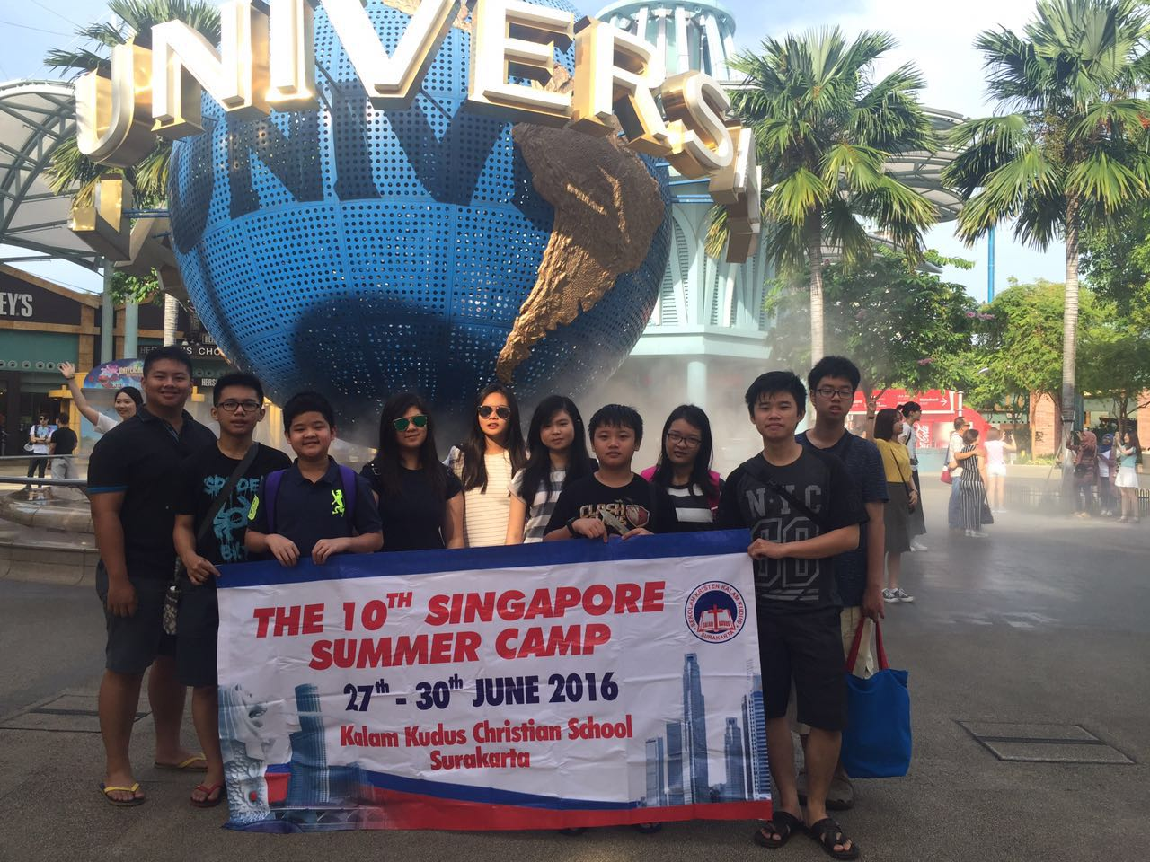 Australian Winter Camp dan Singapore Summer Camp SKKK Surakarta