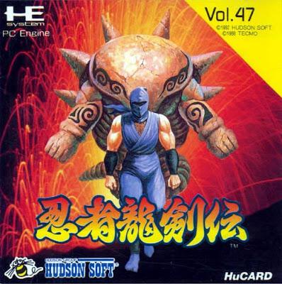 Review -  Ninja Gaiden - PC Engine
