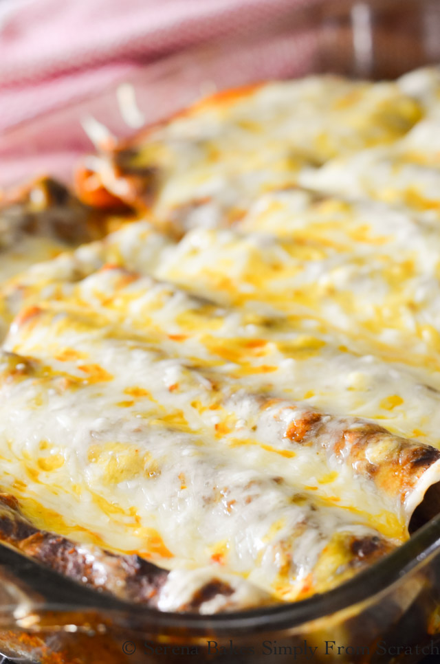 Shredded Beef Enchiladas | Serena Bakes Simply From Scratch